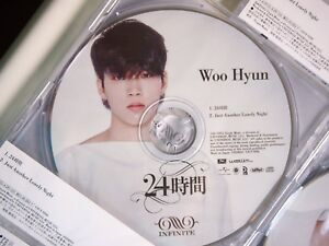 Details about INFINITE 24 Hours 24時間 Japanese single Woohyun version - kpop  Woohyun nct bts