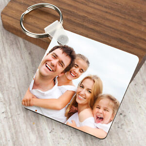 Personalised-Photo-Keyring-Any-Picture-Custom-Keychain-Double-Single-Side-Print