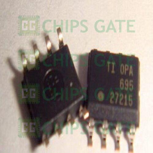2PCS OPA695IDR IC OPAMP CFB 1.7GHZ SGL 8SOIC 695 OPA695