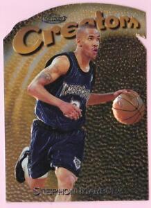 STEPHON-MARBURY-1997-98-TOPPS-FINEST-CREATOR-GOLD-EMBOSSED-DIE-CUT-324