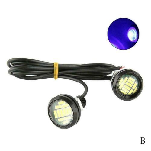 1x DC 12 V 5 W Eagle Eye LED Tagfahrlicht DRL Backup Neue Licht Auto Auto L N7P4