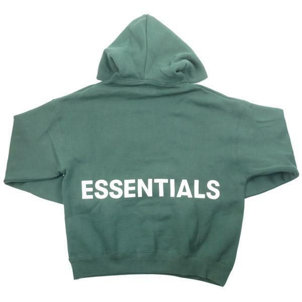 Fear of God 'Essentials' Graphic Logo Sweatshirt Hoodie  Limited  Men's Large