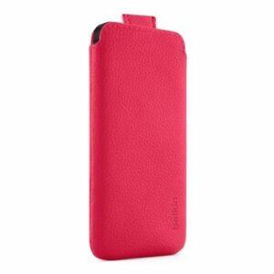 Belkin-Pocket-Pouch-Case-Pink-Day-Glow-for-iPhone-5S-5C-5-amp-iPhone-SE