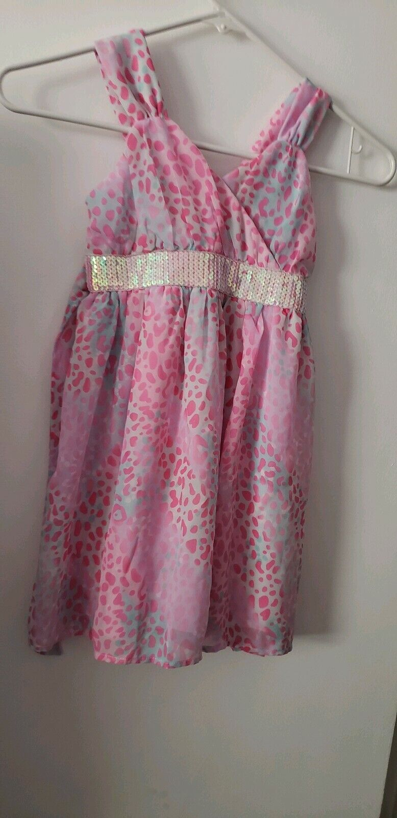 .Girl Pink Dress▪Size XS/EC (4/5)▪ Used Once For A Dance Recital▪Holiday Edition
