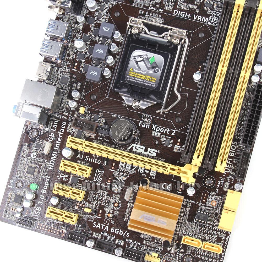 Asus H87M-E, Intel Motherboard