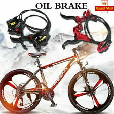 Hydraulic Disc Brakes Oil Disc For Mountain Bike MTB Cycling Front & Rear Set UK