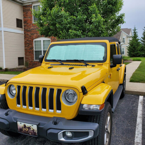 Details about  /Front Windshield Sunshade Visor Anti UV Rays fit for Jeep Wrangler JL 2018+