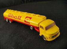 Lego camion Mercedes SHELL tanker truck 1/87 HO peu fréquent