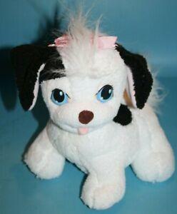 "Puppy Surprise Mom DOG 10"" Black White Plush Stuffed Soft Toy Playskool Hasbro"