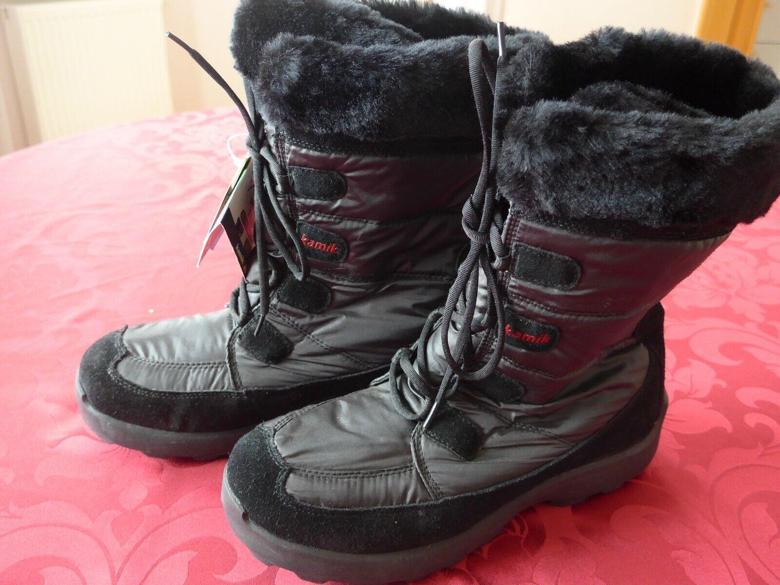 Hochwertige Kamik Damen Winterstiefel Schneestiel Snow Stiefel Gr 42 43