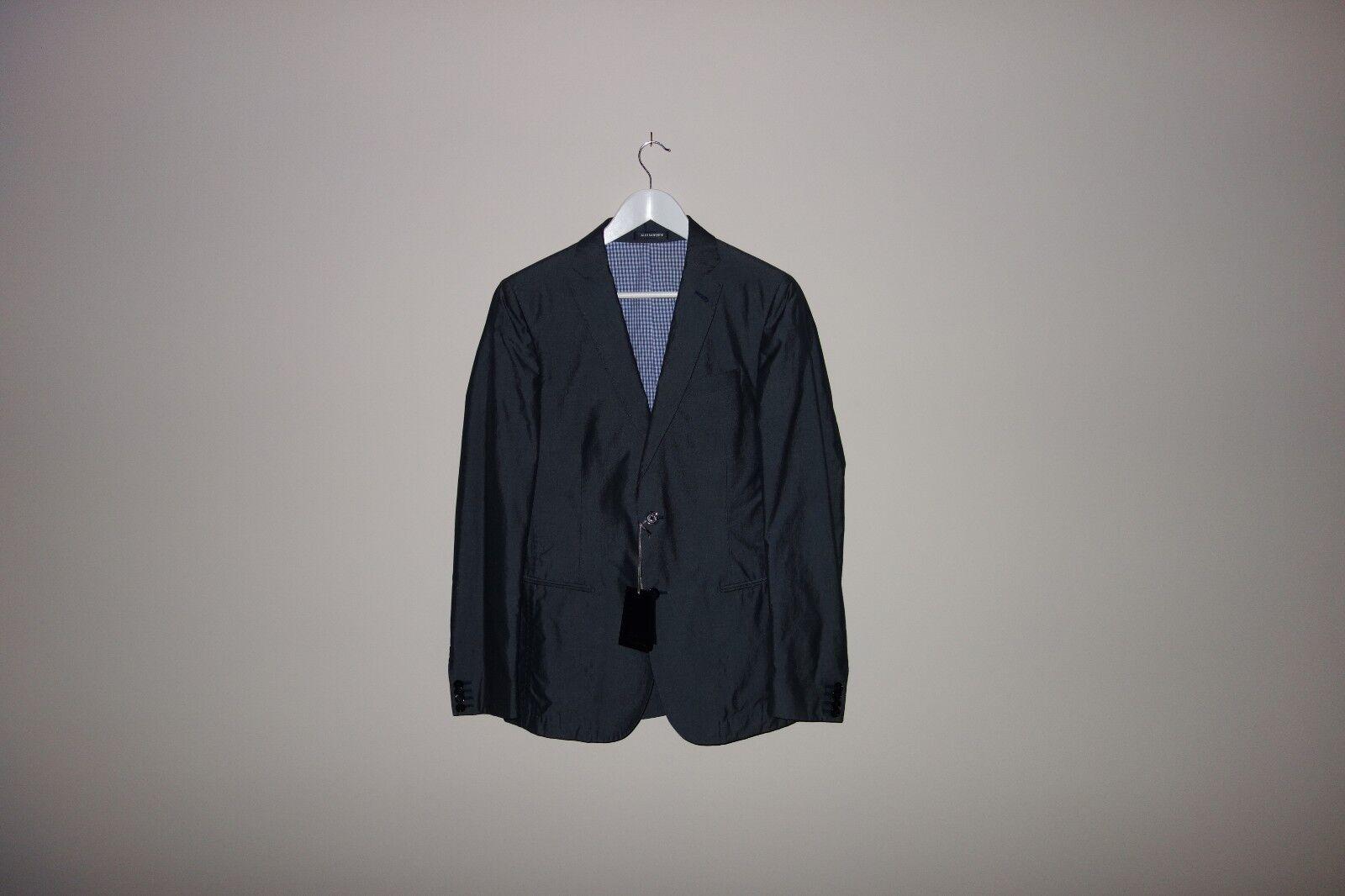 Daniele Alessandrini LUXURY Cotton-Silk Suit Blazer+Trousers 44-46 IT 1200,RARE