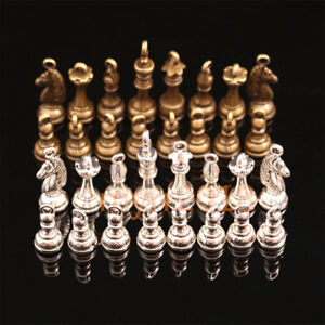 Set-of-chess-Hollow-Antique-charms-Zinc-alloy-pendant-fit-Vintage-silver