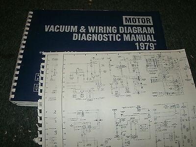 1979 CHRYSLER LEBARON DODGE ASPEN DIPLOMAT VOLARE WIRING VACUUM DIAGRAMS  SET | eBayeBay