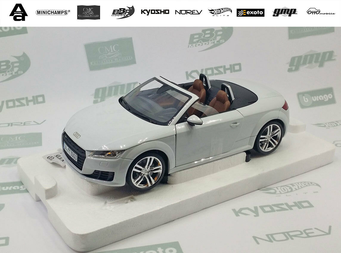 Minichamps 1 18 Audi TT Roadster Glacier white, Brand new