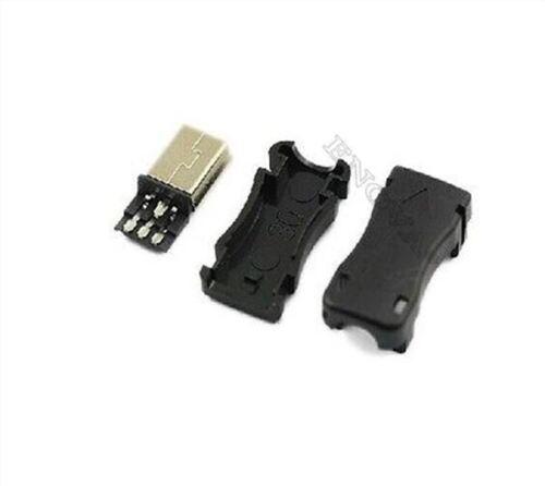 2 Stücke Typ B Usb Stecker Kunststoffschale Für Kabelverbinder Mini Usb Ic co