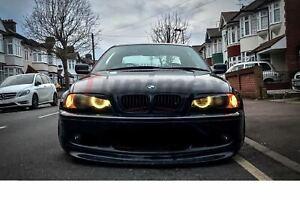BMW-3-E46-M-PAKET-M-SPORT-RARE-FRONTLIPPE-SPOILER-SPLITTER-SCHWARZ