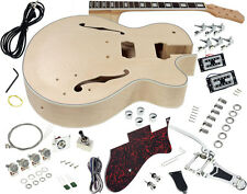 Solo GF Style DIY Guitar Kit, Maple Hollow Body Rosewood FB, Vintage Trem GFK-10