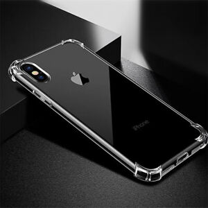 Soft White Rubber Silicone Anti-knock iPhone XS Case (Cover