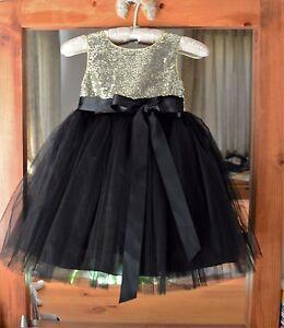 4d5c52132db White Black Ivory Red Sequin Mesh Flower girl dress Sizes 12-18 ...