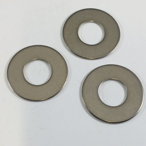 """Flat Washer 18-8 Stainless Qty 100 1//2/"""" x 1 1//4/"""" O.D ** Builders Stainless **"""