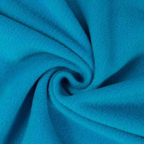 Polarfleece Uni Turquoise hiver tissu modestoff Enfants Tissu Prix = 0,5 m