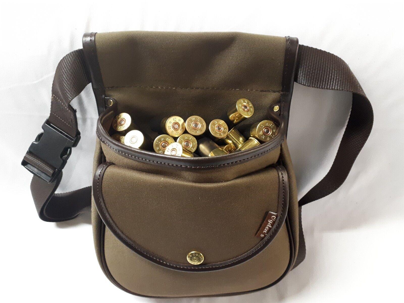 Bolsa de cartuchos de escopeta por Ogdens