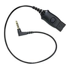 Plantronics MO300 3.5mm to QD Plug for Blackberry Nokia HTC Samsung Motorola HTC