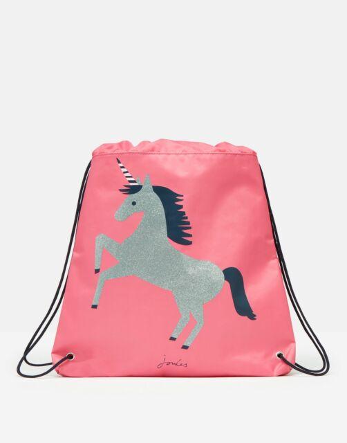 Joules Girls 211209 Drawstring Bag - Carmine Rose - One Size