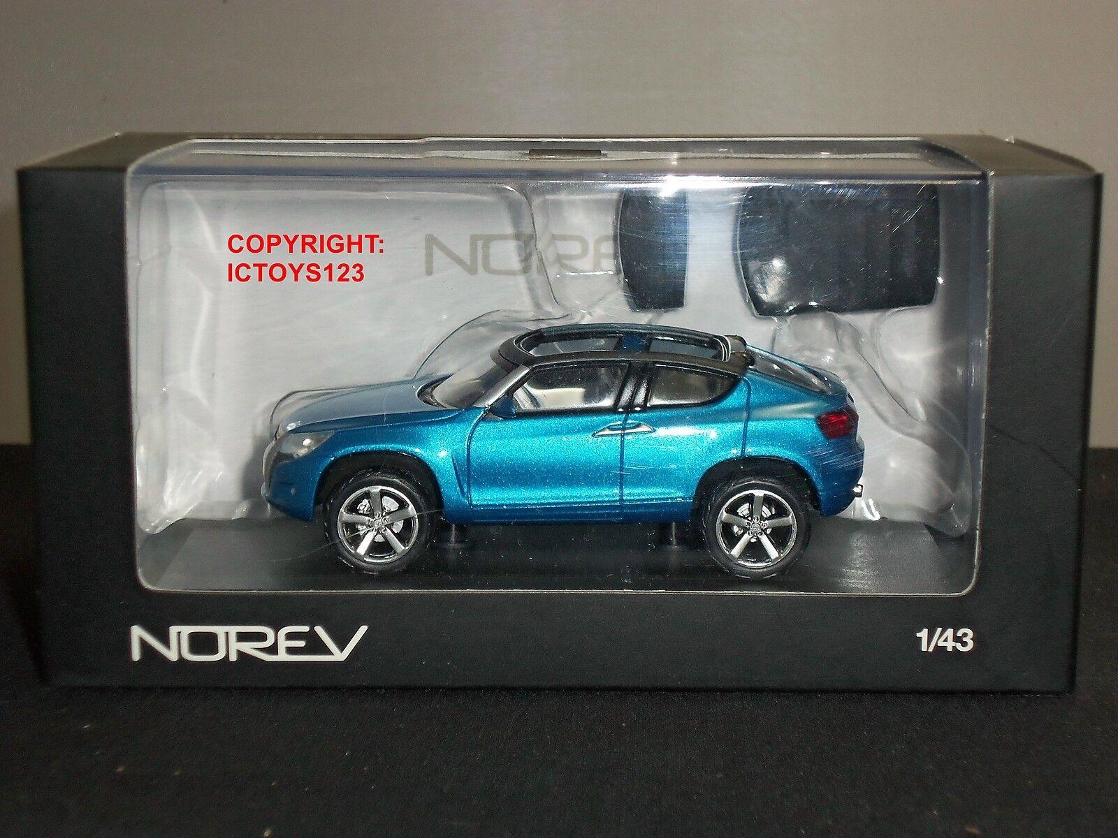 NOREV 840108 VOLKSWAGEN VW CONCEPT A blueE DIECAST MODEL CAR