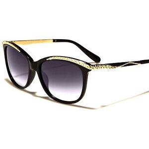 9a6dc00d702 Image is loading Celebrity-Fashion-Rhinestone-Gold-amp-Black-Stylish-Hot-