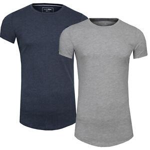 TOM TAILOR Denim Freizeit Fitness T-Shirt mit Logo-Stickerei Oversize Überlänge