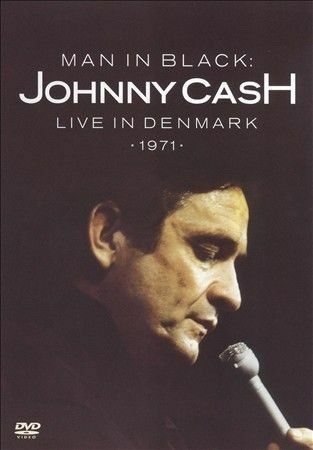 1 of 1 - MAN IN BLACK: JOHNNY CASH LIVE IN DENMARK 1971 DVD Fast, Free Shipping