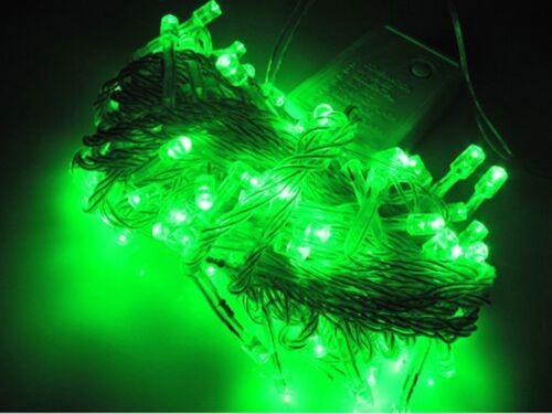 8.5M 100 LED Christmas Tree Fairy String Lights Lamp Xmas Party Outdoor Decor US