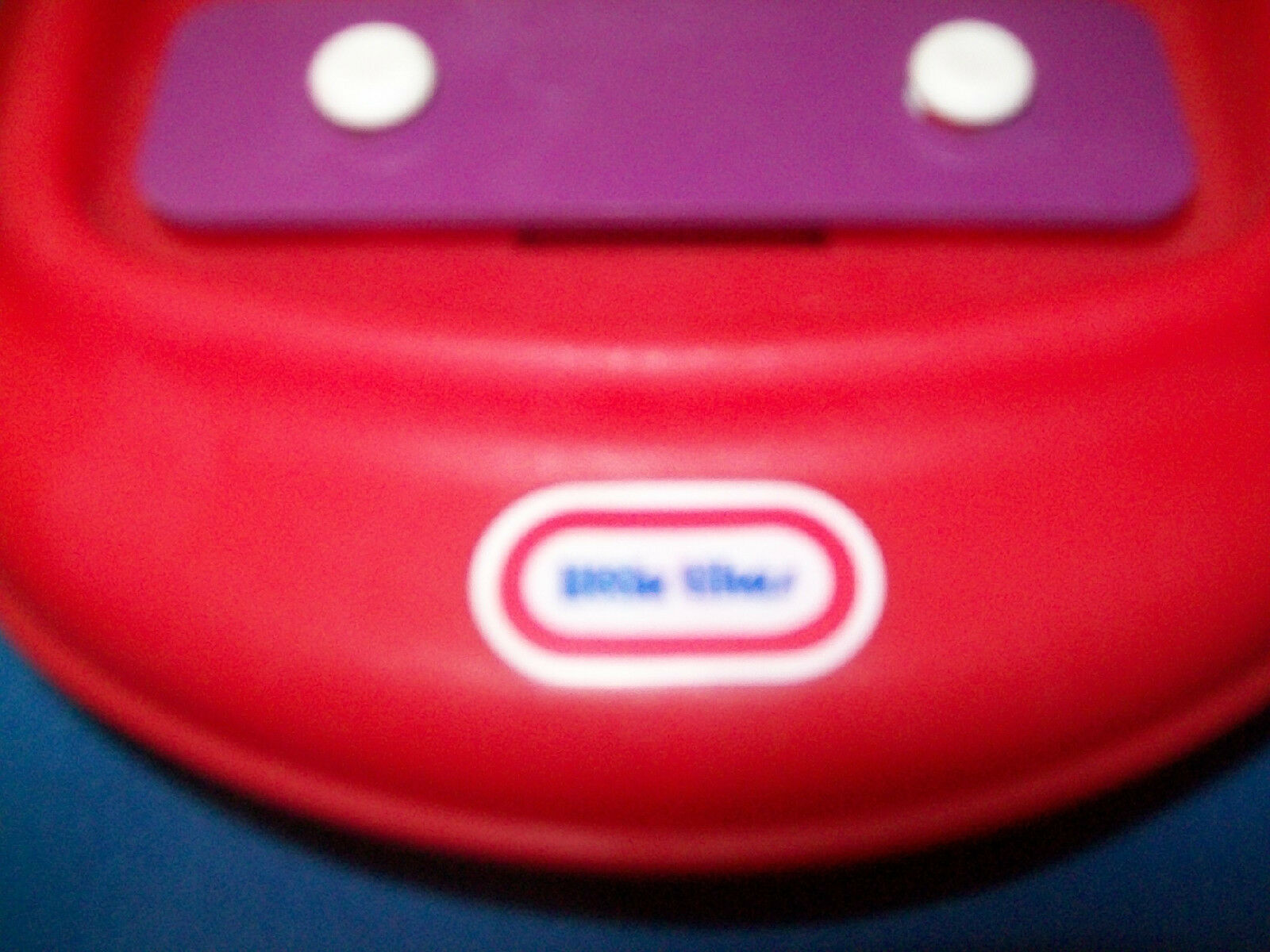 Little Tikes Red Xylophone Piano Tap a Tune Piano #1571 Vintage EUC ...