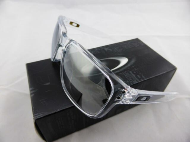 58a33b20b8e Oakley HOLBROOK Asian Fit Sunglasses Polished Clear - Chrome Iridium Lens