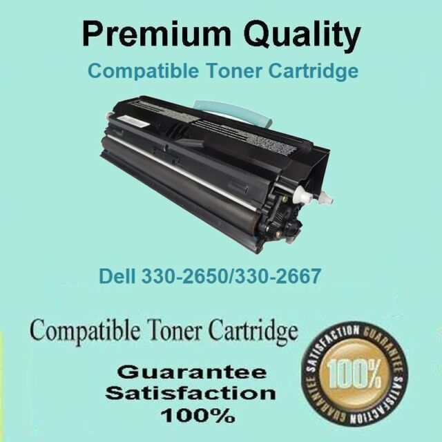 3x Dell 2330 2350 2330dn 2350dn 2330d High Yield Toner Cartridge  6K Pages