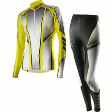 Skiing Suit Löffler Women's Cross-Country  Black-Lemon UK8/ EU 36