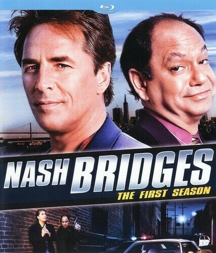 Nash Bridges: The First Season (Season 1) BLU-RAY NEW
