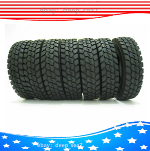 4X-1-14-Race-Climbing-Rubber-Tyre-Tires-For-RC-Tamiya-Tractor-Truck-Trailer-Car