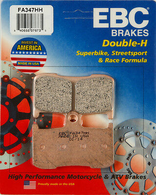 REAR EBC HH RATED SINTERED BRAKE PADS 2016-2017 INDIAN CHIEF DARK HORSE