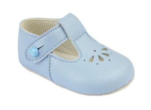 Baypods diseñador español de Bebé Azul Blanca Rosa Suela Suave Bebé Niñas Niños Zapatos