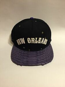 0644276f4 Details about Custom Python Mitchell & Ness Strapback - New Orleans  All-Star (Stars)