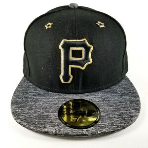 promo code 9d310 847a0 Image is loading Pittsburgh-Pirates-New-Era-59FIFTY-Baseball-Hat-SZ-