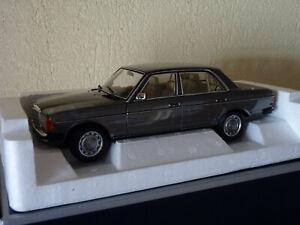 Norev-183713-mercedes-benz-200-sedan-1982-w123-at-1-18-charcoal-grey