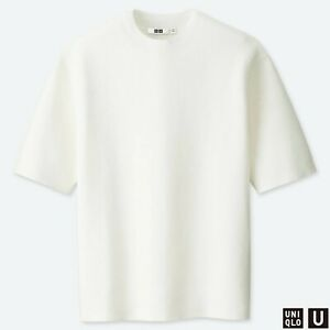Sweaters Men's Clothing Estilo Mens Designer Jumper Check Pure New 12gg Knitted Top Classic White Ss16