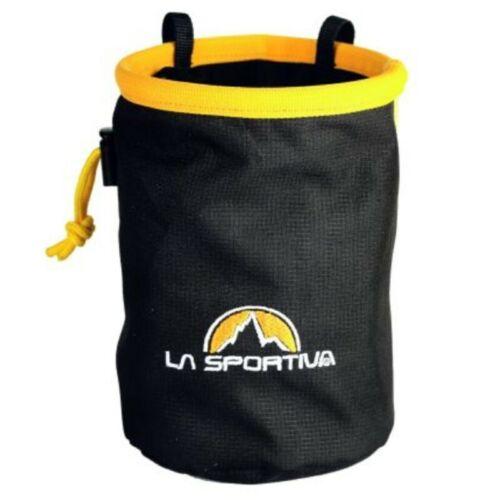 La Sportiva Chalk Bag Sacchetto Portamagnesite Nero//Giallo