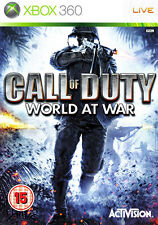 Call of Duty World at War ~ XBox 360 (in Good Condition)