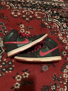 Nike-SB-Dunk-High-RESN-2009-Size-13-Pre-Owned-Blue-Box-313171-362-Deep-Forest