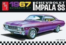 AMT 1:25 1967 Chevy Impala SS Plastic Model Kit AMT981