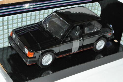 Dodge Omni GLH Schwarz 1985 1978-1990 1//24 Motormax Modell Auto mit oder ohne in